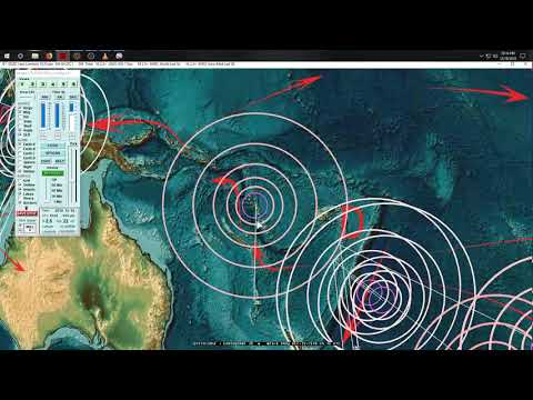 12/18/2018 -- Large Earthquake activity returns -- M6.2 South Pacific -- Seismic pressure transfer