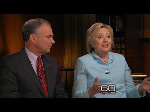 """Preview: """"60 Minutes"""" interviews the Democratic ticket"""
