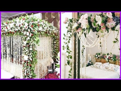 Most Beautiful Bridal Room Decoration Ideas Wedding Night Bed Marriage Designs