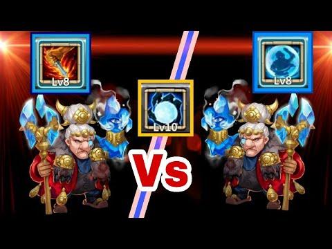 Ma Hatma | 8/8 Bulwark Vs 8/8 Life Drain | Offense/Defense | 3-3 Round | Castle Clash