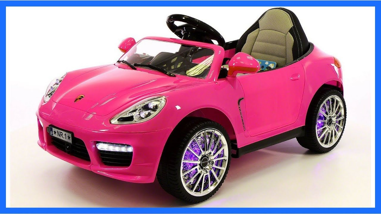 12v Porsche Boxster Style Cars For Kids Remote Control Youtube