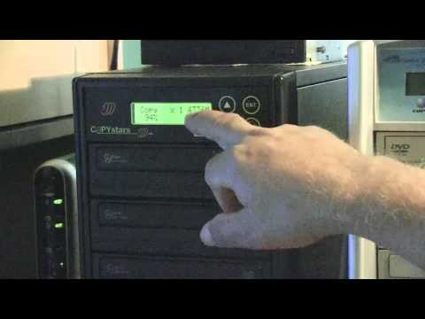 Duplicating DVDs / CDs and Printing onto them with the Primera Bravo II Printer