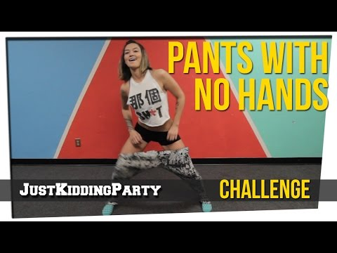 Pants With No Hands Challenge ft. Geo Antoinette