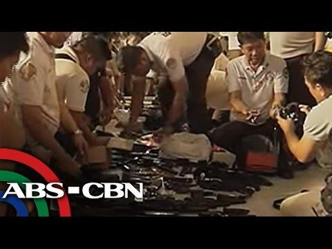 Bandila: High-caliber guns seized at Bilibid prison search
