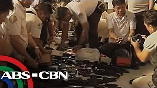Bandila: High-caliber guns seized at Bilibid prison search