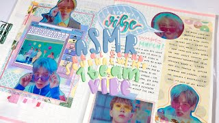 Download asmr real sound k-pop journal with me: 1team - vibe! Mp3