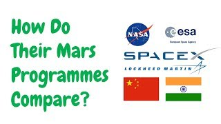 Mars Programmes Compared! (NASA, ESA, SpaceX, CNSA, ISRO, LM)