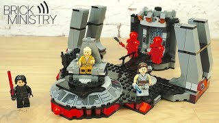 LEGO Star Wars 75216 ● Тронный зал Сноука [Обзор]