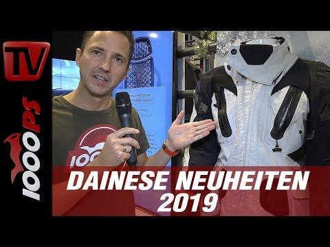 Dainese Neuheiten 2019 auf der INTERMOT 2018