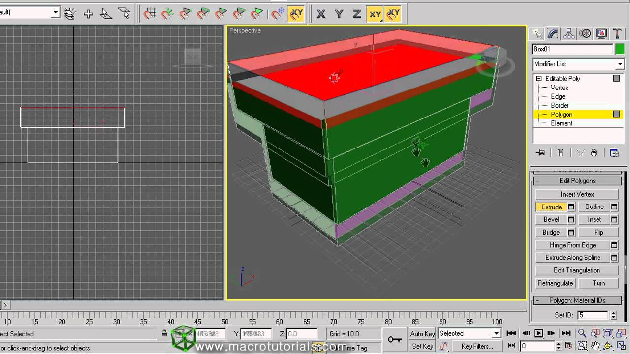 3d studio max tutorial como modelar objetos low poly for 3d object editor