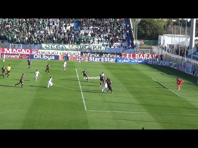 Raja Casablanca vs Mat 1 - 1 , جمالية هدف عبد الإله الحافيظي للرجاء فى مرمى المغرب التطواني