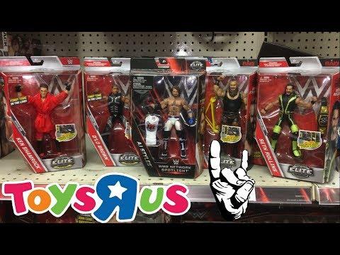 WWE TOY HUNT AT TOYSRUS!!! ELITES 52/WWE NETWORK SPOTLIGHT ELITE AJ STYLES
