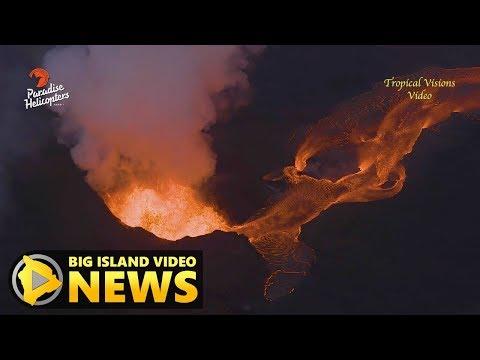 Hawaii Volcano Eruption Update - Friday Morning (June 15, 2018)