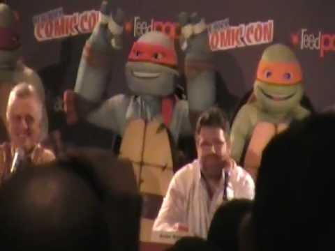 New York Comic Con 2012 - Teenage Mutant Ninja Turtles Panel