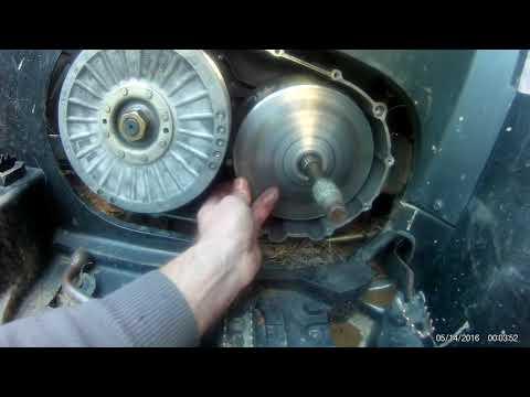 Перегрел вариатор CF MOTO 500 2A. Ремонт вариатора