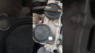Работа двигателя поло седан. Стук или не стук.