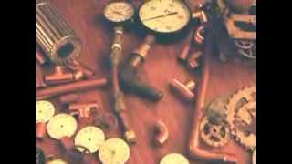 Steam Punk / Assemblage art  Clock project