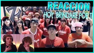 ARGENTINOS REACCIONAN A Hoy brindare por ti Adan Zapata, Srath, Thug Pol & Hover (VIDEO OFFICIAL)
