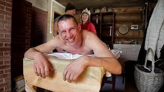 """Центральная баня """"Ладушка"""" в родовом поселении Б. Медведица."""