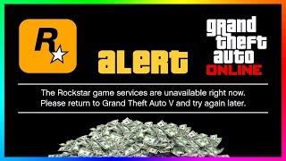 Rockstar's FREE $2,000,000 Money Giveaway In GTA 5 Online Has Completely Broken The Servers!