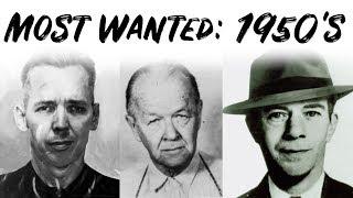 FBI's Most Wanted Criminals - 1950's | Mr. Davis