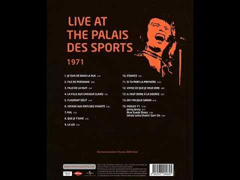 Johnny Hallyday - Jenny Jenny - Palais des sports 71