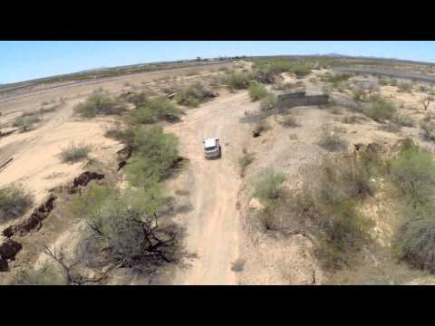2015 Ford Everest - Arizona engine testing