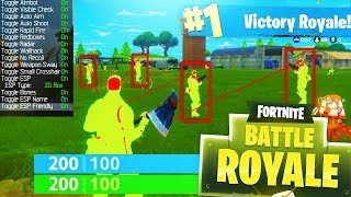 HE THOUGHT I WAS HACKING!! (Fortnite Battle Royale)