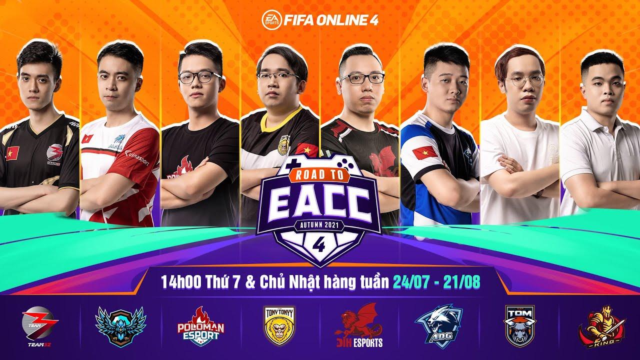 Road to EACC: Giải đấu League đầu tiên của FIFA Online 4 Việt Nam