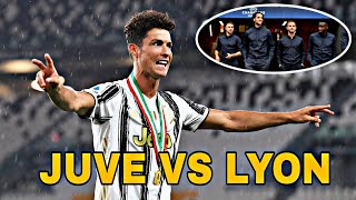 Puede pasar la Juve Cristiano fracasó en Italia Hablemos de fútbol Predicción Juve vs Lyon