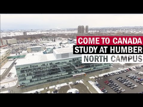 Humber College North Campus Tour - YouTube