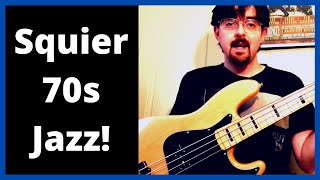Squier Classic Vibe 70s Jazz Bass Review
