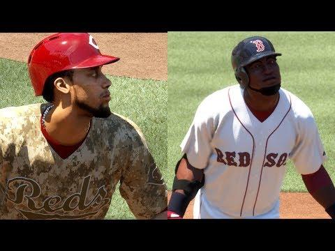 David Ortiz VS Billy Hamilton! INSIDE THE PARK HOME RUN! *SHOCKING* MLB THE SHOW 17