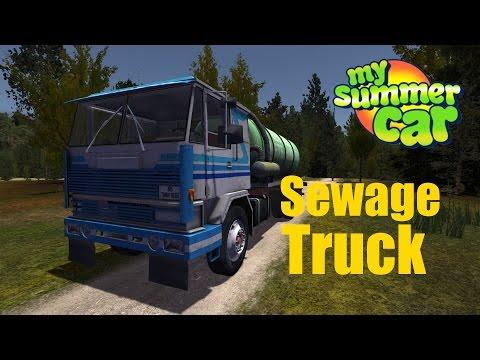 my summer car  sewage truck
