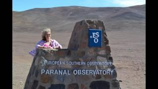 Very Large Telescope tour. VLT. Chile 2016 Antofagasta to Paranal.