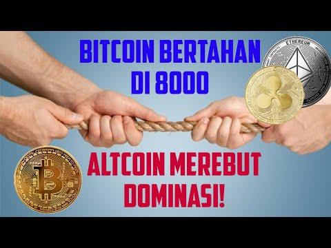 Berita Crypto 042- #Bitcoin Diperdagangkan Sideways,  Altcoin Merebut Dominasi