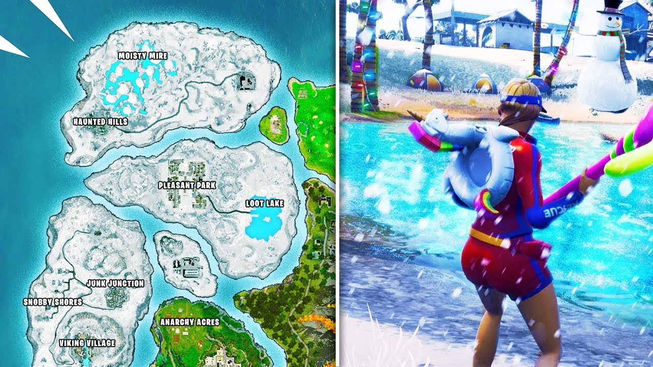 New Season 7 Map Leaks In Fortnite Fortnite Battle Royale Season