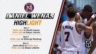 Daniel Wenas Full Highlight IBL Series 1, 2 & 3 - 2017/18