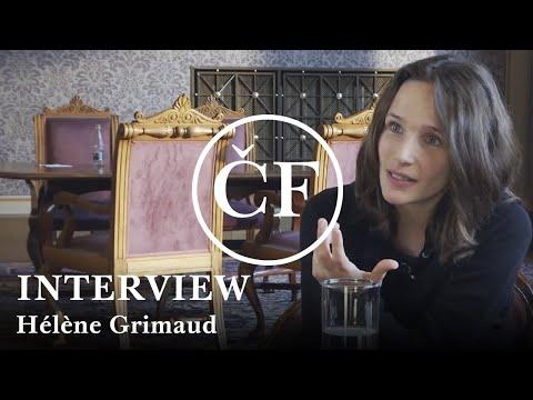 Hélène Grimaud: interview (Česká filharmonie / Czech Philharmonic)