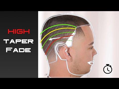 High TAPER-FADE technique - BARBER Tutorial