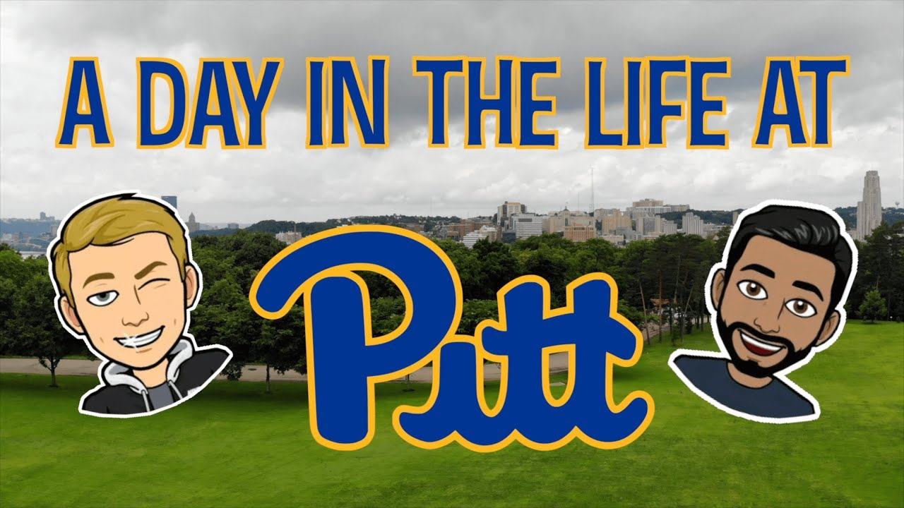 A Day in the Life of 2 College Students | Pitt CS & Engineering 2019