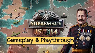 Supremacy 1914 - The Great War Strategy Game - Android / iOS Gameplay