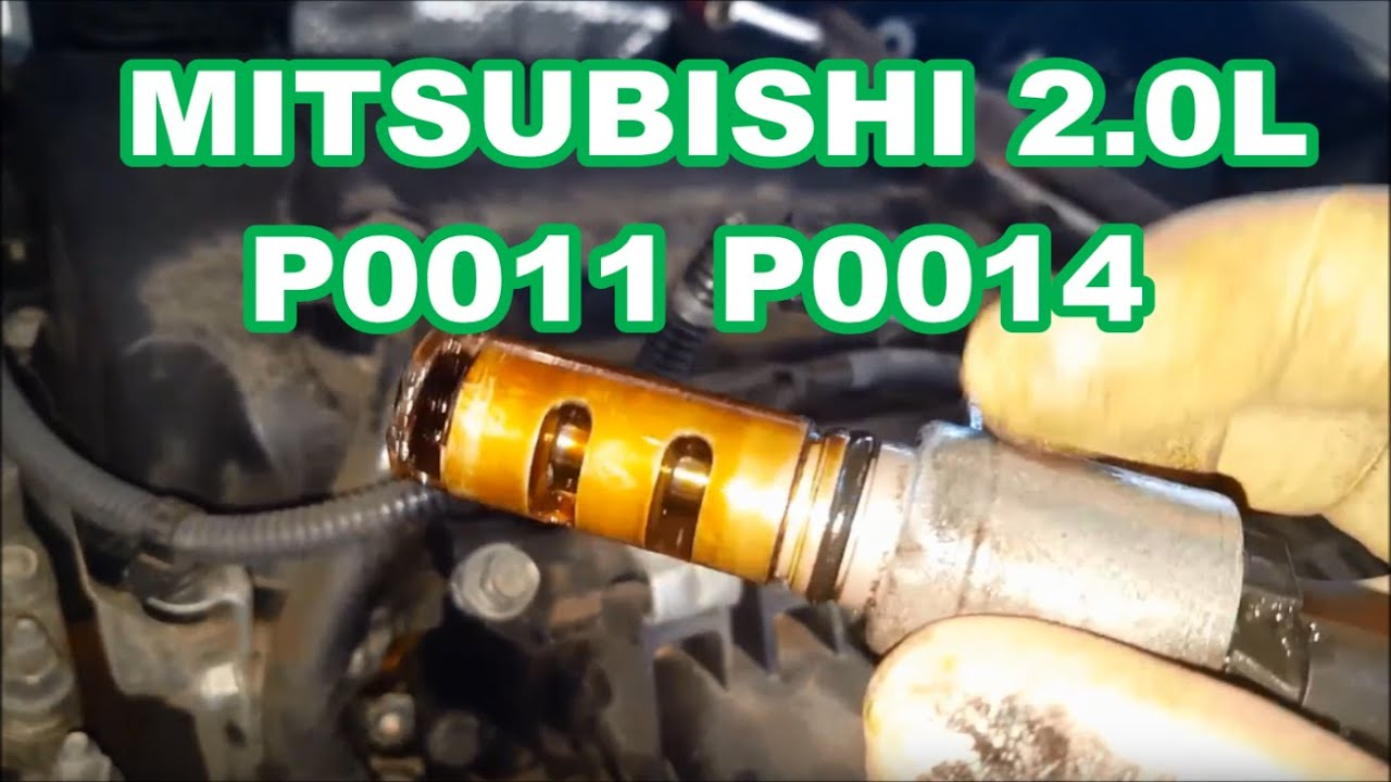 2007-2014 MITSUBISHI 2 0L P0011 P0014 OUTLANDER variable valve timing  solenoid lancer vvt