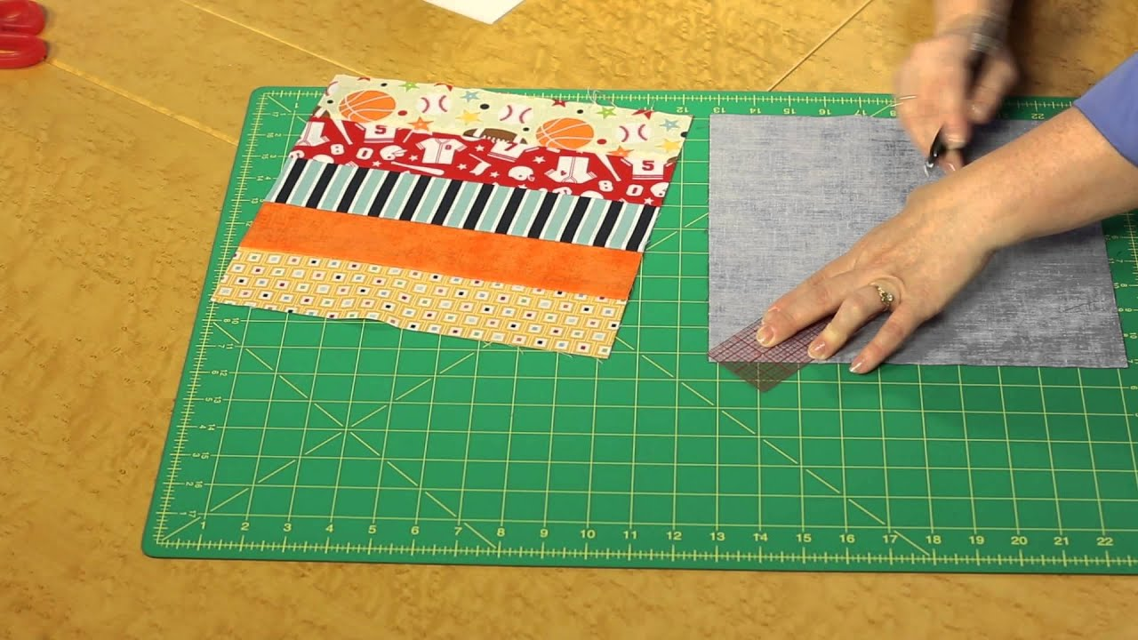 Quilting Quickly Game Day Strip Quilt Pattern Youtube