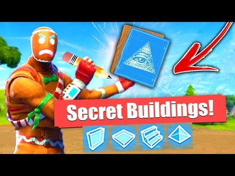 How to Build *Secret* Buildings in Fortnite Battle Royale