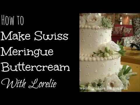 Easy Swiss Meringue Buttercream Recipe - YouTube