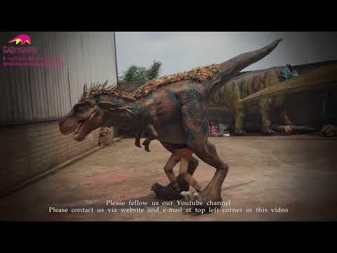 Customized Mechanical Feathered Tyrannosaurus rex Costume