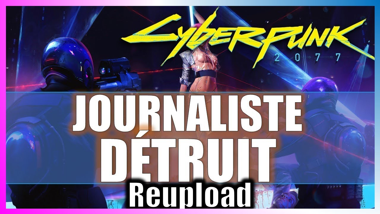 [Reupload] CYBERPUNK 2077  LE CREATEUR DU JEU DE ROLE REPOND ET DETRUIT LES POLEMIQUES