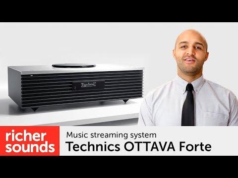 Technics OTTAVA Forte - Music Streaming System | Richer Sounds