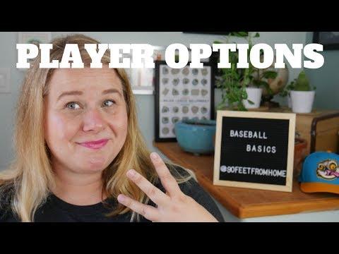 PLAYER OPTIONS - Baseball Basics